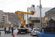 سومین مانور بازسازی شبکه های توزیع برق در ایلام برگزار شد