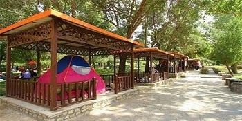 کمپ گردشگری در سد دویرج دهلران ایلام راه اندازی شد