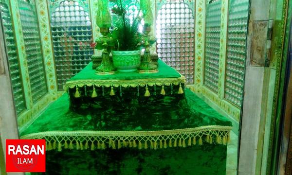 غباروبی امامزاده علی صالح(ع)
