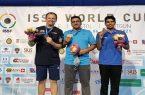 کسب مدال طلای تپانچه بادی جهان توسط ورزشکار ایلامی