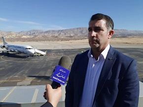 حدود دو هزار سورتی پرواز از فرودگاه ایلام انجام شد
