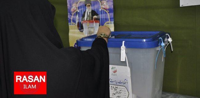 ۸۲۶ شعب رای در ایلام مربوط به انتخابات ریاست جمهوری است