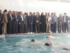 با حضور وزیر آموزش و پرورش: استخر شهدای دانش آموز شهر سرابله افتتاح و به بهرهبرداری رسید