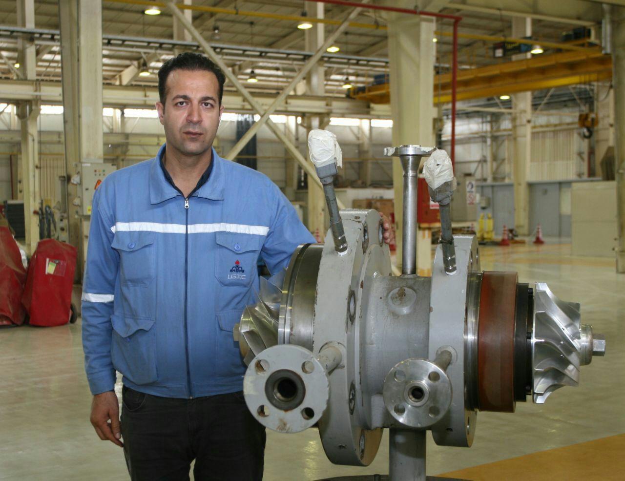 مسئول ماشین آلات دوار شرکت پالایش گاز ایلام عنوان کرد: ماشین آلات دوار نقش حیاتی در فرآیند تولید پایدار دارند