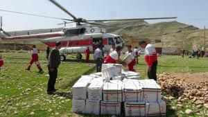 مدیرعامل هلال احمر ایلام خبر داد: امدادرسانی هلال احمر به بیش از ۳ هزار خانوار سیلزده ایلام